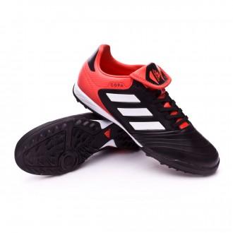 Chaussure  adidas Copa Tango 18.3 Turf Core black-White-Real coral