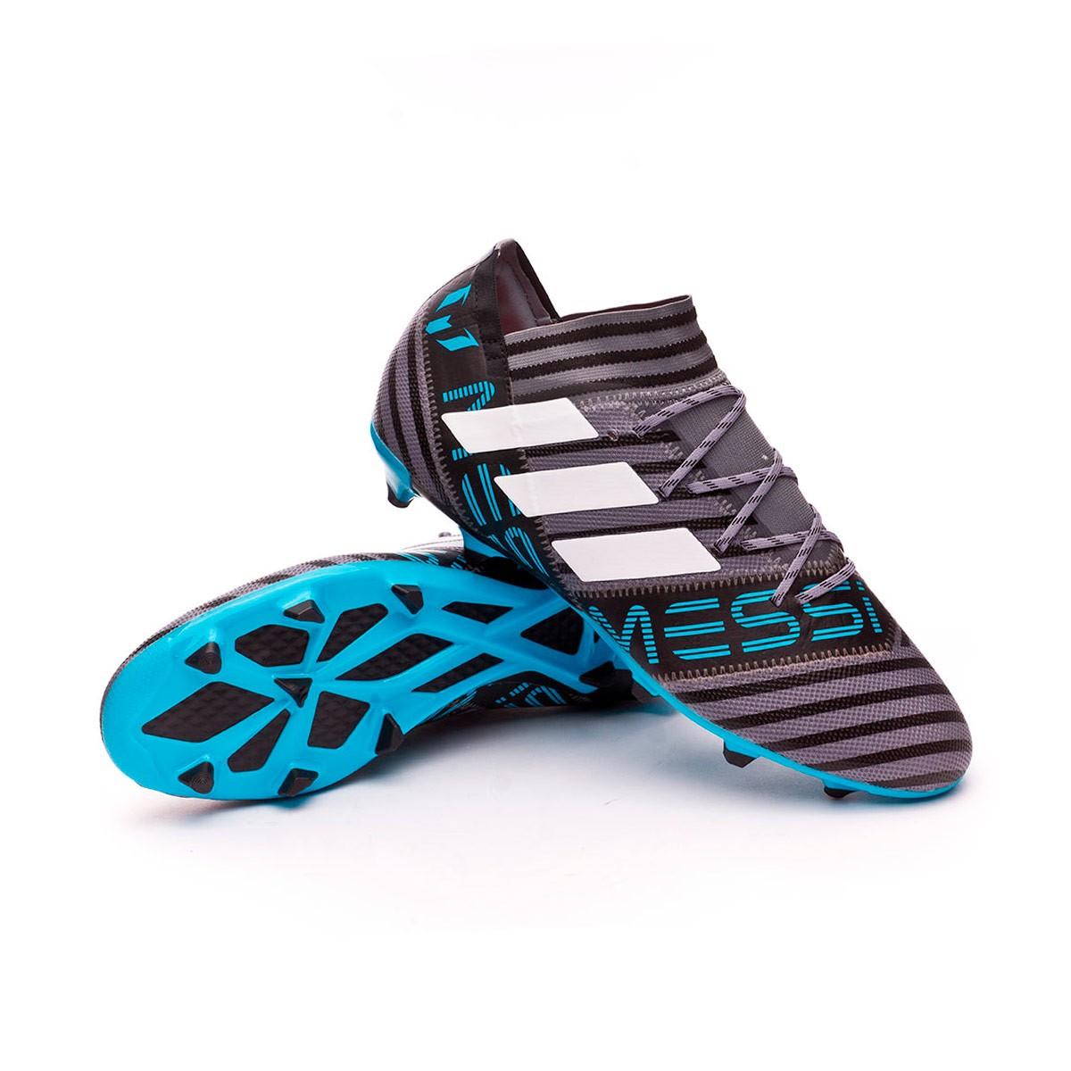 ad67f0d49 Football Boots adidas Nemeziz Messi 17.2 FG Grey-White-Core black ...