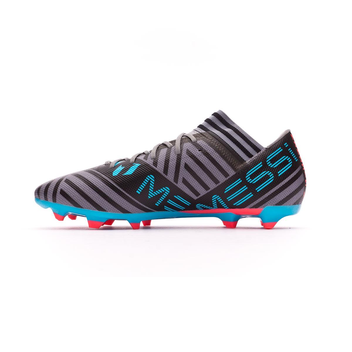 Scarpe adidas Nemeziz Messi 17.3 FG Grey-White-Core black - Negozio di  calcio Fútbol Emotion 76825cb259f