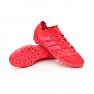 Zapatilla  adidas Nemeziz Tango 17.3 Turf Real coral-Red zest-Core black