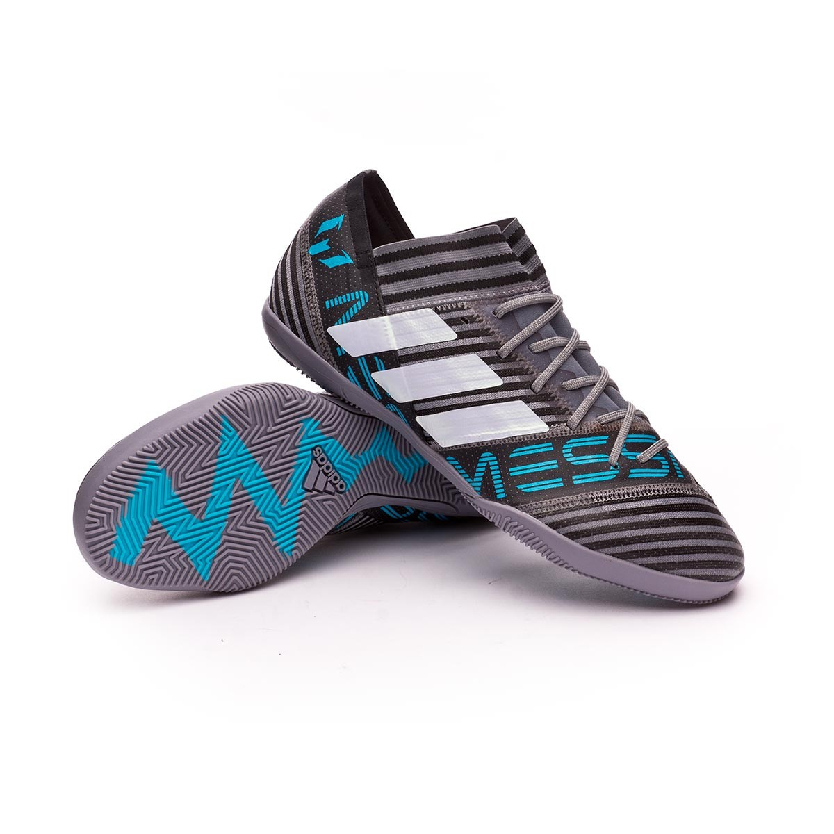 f78fb4edd65a Futsal Boot adidas Nemeziz Messi Tango 17.3 IN Grey-White-Core black ...