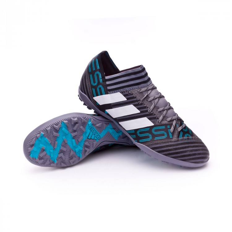 dabec112a Football Boot adidas Nemeziz Messi Tango 17.3 Turf Grey-White-Core ...