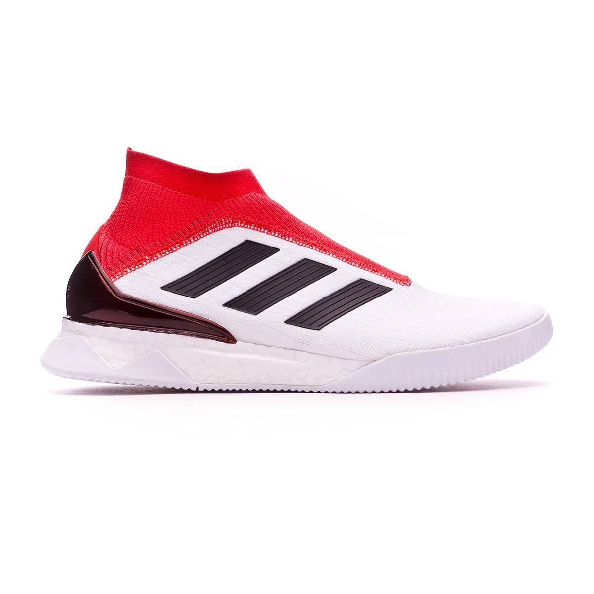4132a9bc05634 Trainers adidas Predator Tango 18+ TR UltraBoost White-Core black-Real  coral - Tienda de fútbol Fútbol Emotion
