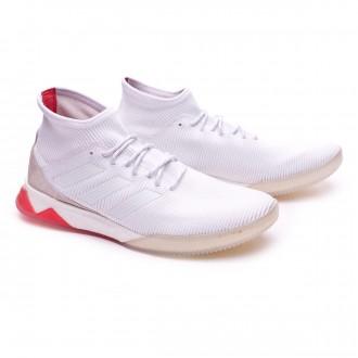 Zapatilla  adidas Predator Tango 18.1 TR White-Real coral