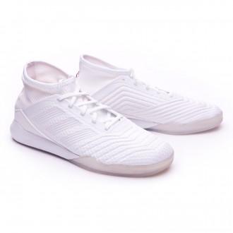 Sapatilha  adidas Predator Tango 18.3 TR White-Core black-Real coral