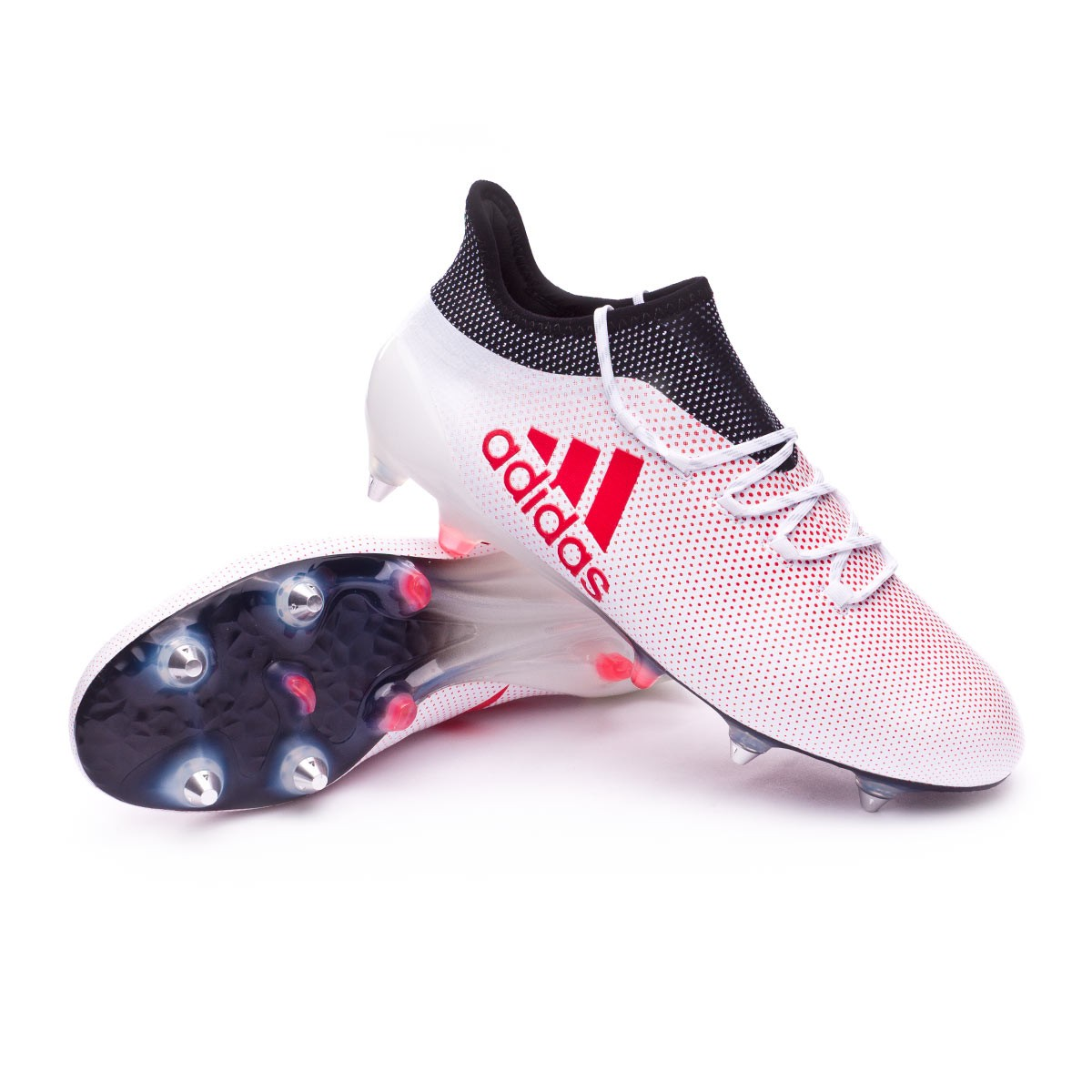 9d8625f9d889b Football Boots adidas X 17.1 SG Grey-Real Coral-Core Black - Tienda ...