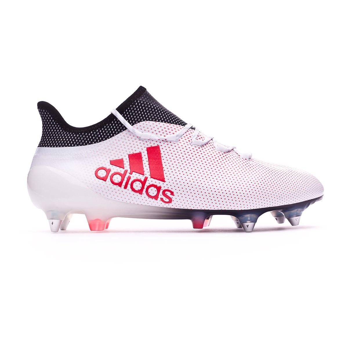 online store 3bc0f 70c99 Football Boots adidas X 17.1 SG Grey-Real Coral-Core Black - Tienda de  fútbol Fútbol Emotion