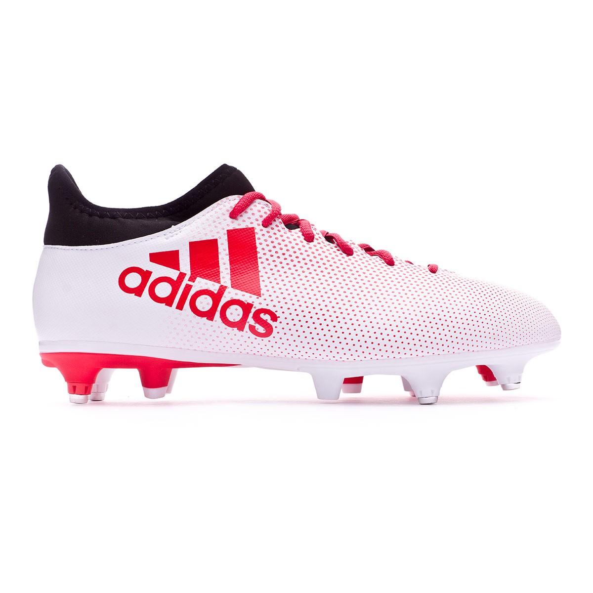 d50adc44e1b Chaussure de foot adidas X 17.3 SG Grey-Real coral-Core black - Boutique de football  Fútbol Emotion