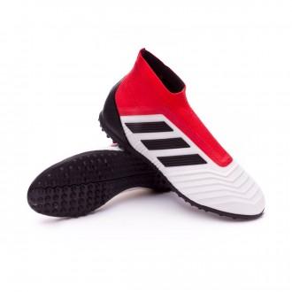 Chaussure  adidas Predator Tango 18+ Turf Niño White-Core black-Real coral