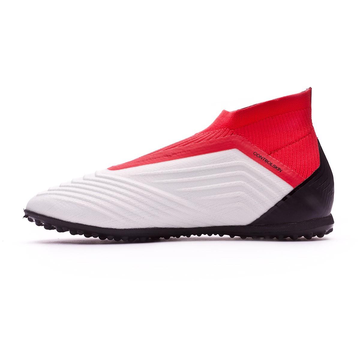 low priced a2207 70d38 Zapatilla adidas Predator Tango 18+ Turf Niño White-Core black-Real coral -  Soloporteros es ahora Fútbol Emotion