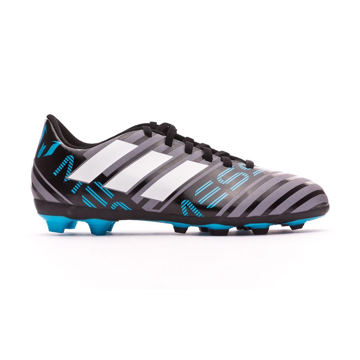 590ac3be54d Football Boots adidas Kids Nemeziz Messi 17.4 AG Grey-White-Core black -  Football store Fútbol Emotion