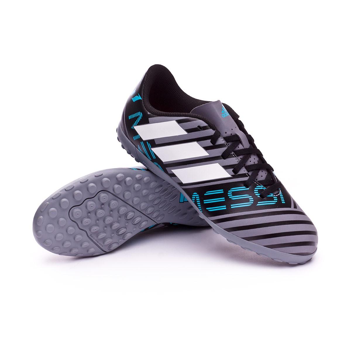 8941cce35 Football Boot adidas Kids Nemeziz Messi Tango 17.4 Turf Grey-White ...