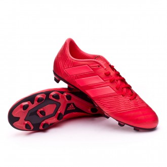 Bota  adidas Nemeziz 17.4 FxG Real coral-Red zest-Core black