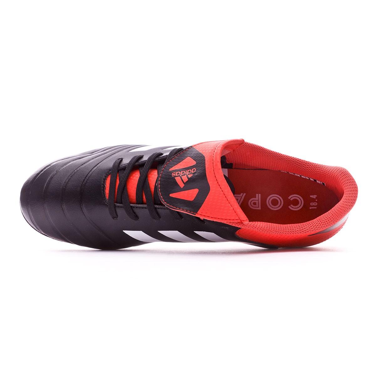 super popular 1a4ac 9e1b6 Zapatos de fútbol adidas Copa 18.4 FxG Core black-White-Real coral - Tienda  de fútbol Fútbol Emotion