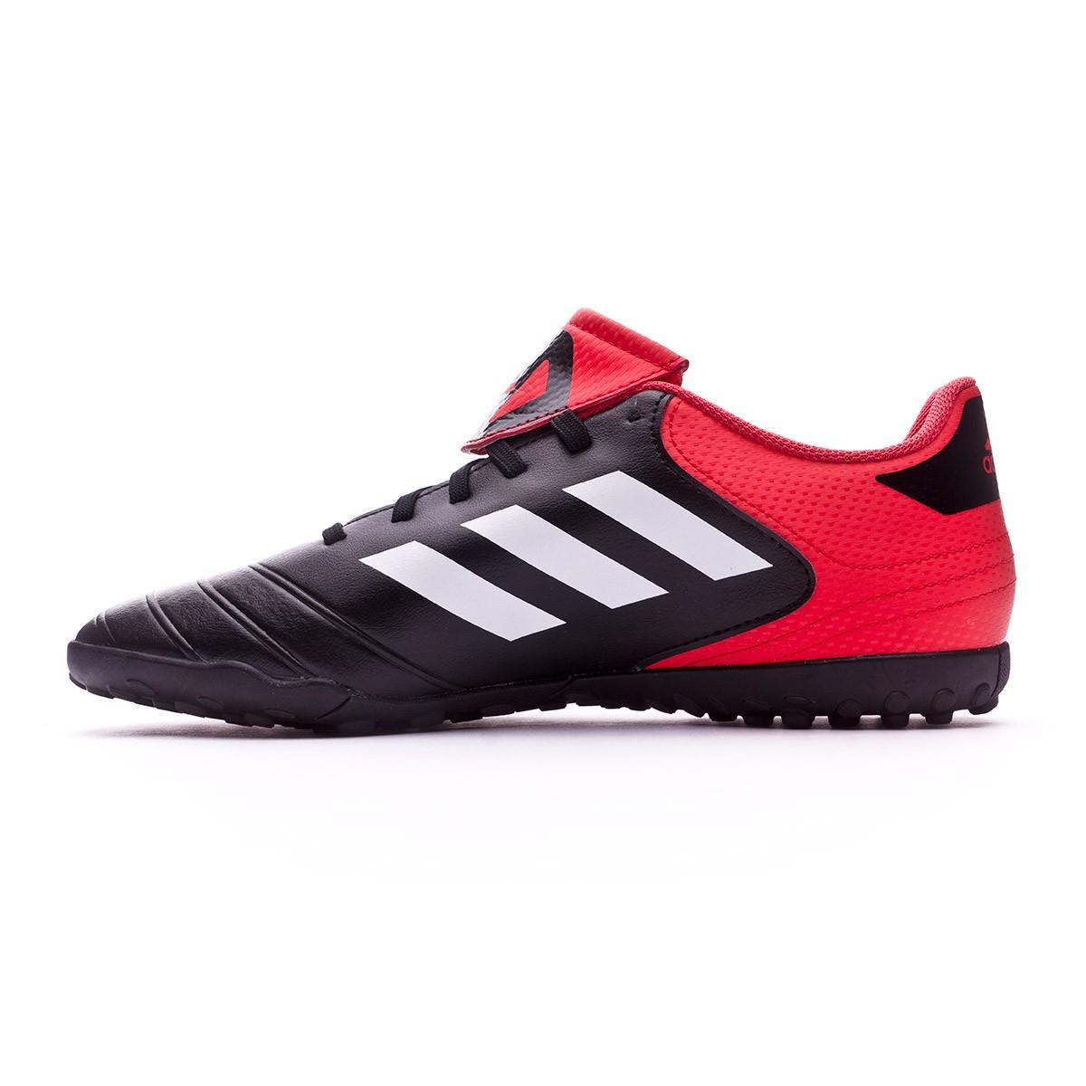 1f7d6e3af36dc Zapatilla adidas Copa Tango 18.4 Turf Core black-White-Real coral - Tienda  de fútbol Fútbol Emotion