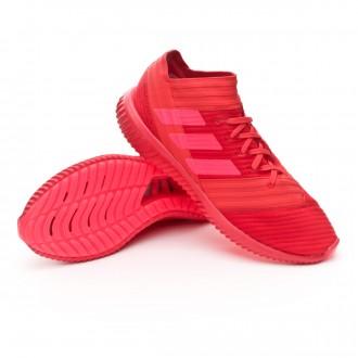 Zapatilla  adidas Nemeziz Tango 17.1 TR Real coral-Red zest