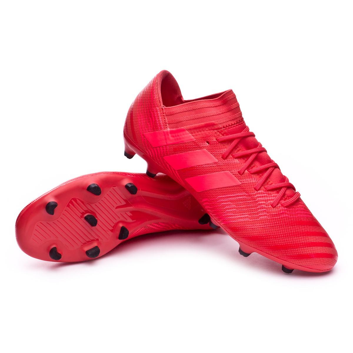 ca851d646b88 Football Boots adidas Nemeziz 17.3 FG Real coral-Red zest-Real black ...