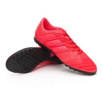 Zapatilla  adidas Nemeziz Tango 17.4 Turf Real coral-Red zest-Core black