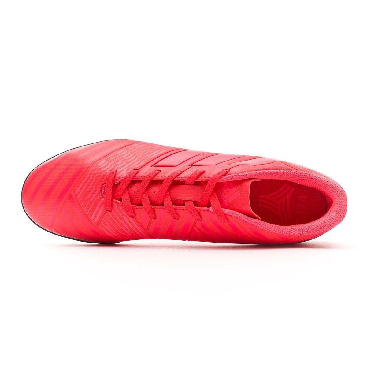8fa73127f37d Football Boot adidas Nemeziz Tango 17.4 Turf Real coral-Red zest-Core black  - Tienda de fútbol Fútbol Emotion