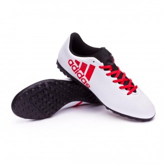 Zapatilla  adidas X Tango 17.4 Turf Grey-Real coral-Core black