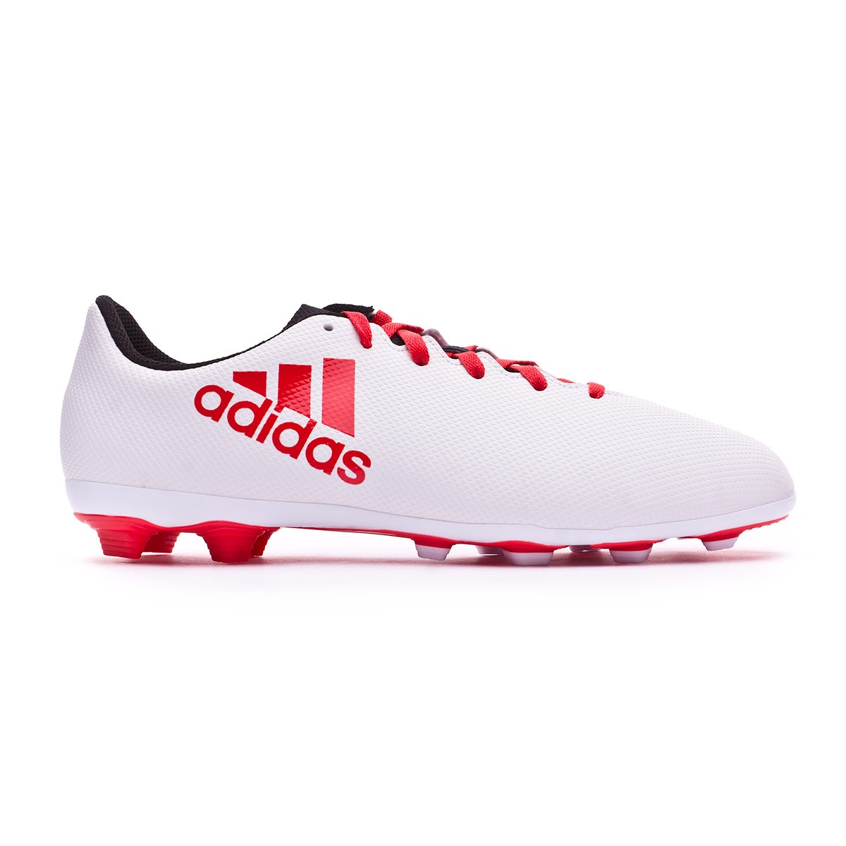 best sneakers 7af58 c62c5 Bota X 17.4 FxG Niño Grey-Real coral-Core black