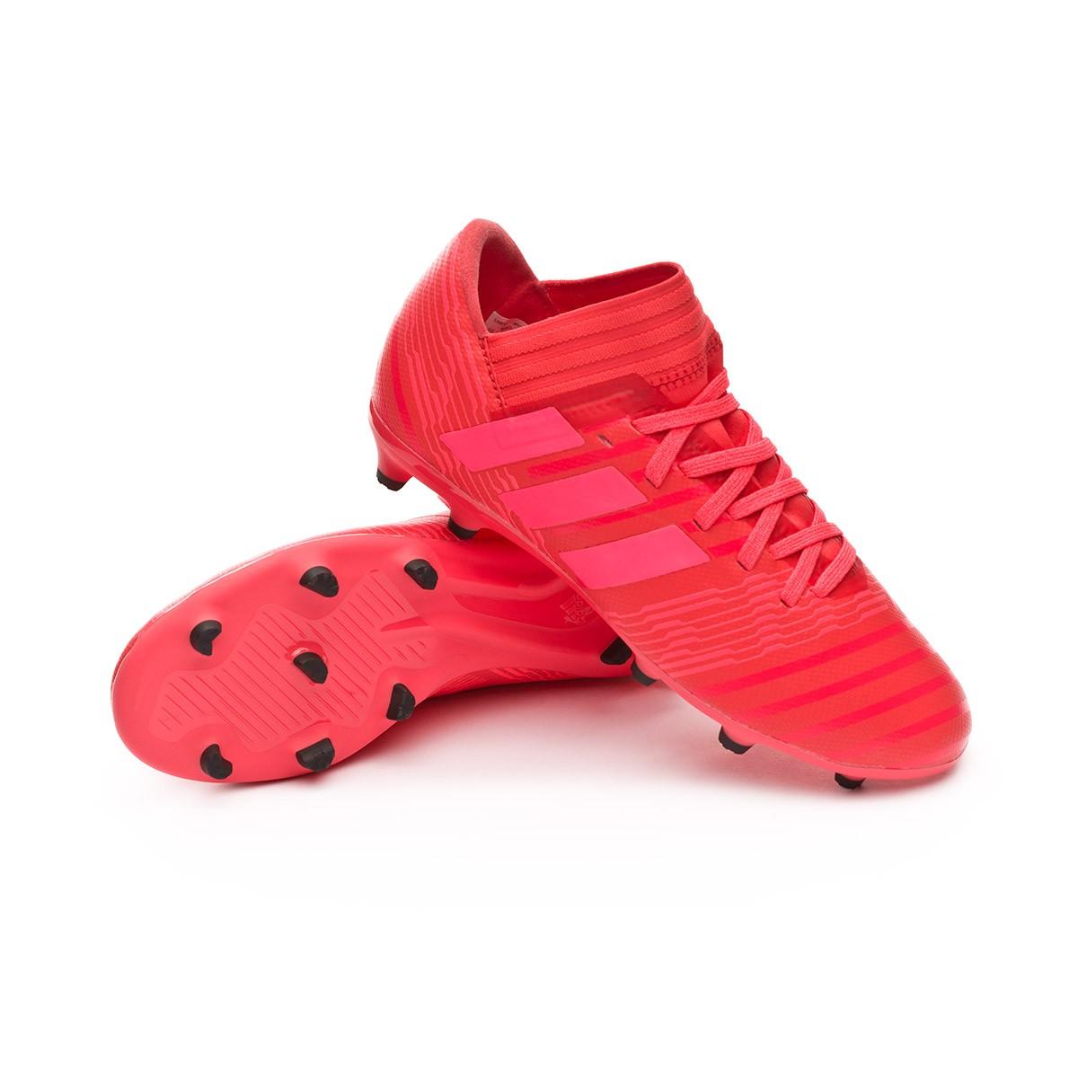 Boot adidas Kids Nemeziz 17.3 FG Real coral-Red zest-Core black ... eeca5e70c