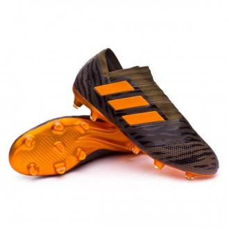 Chuteira  adidas Nemeziz 17+ 360 Agility FG Trace olive-Bright orange-Core black