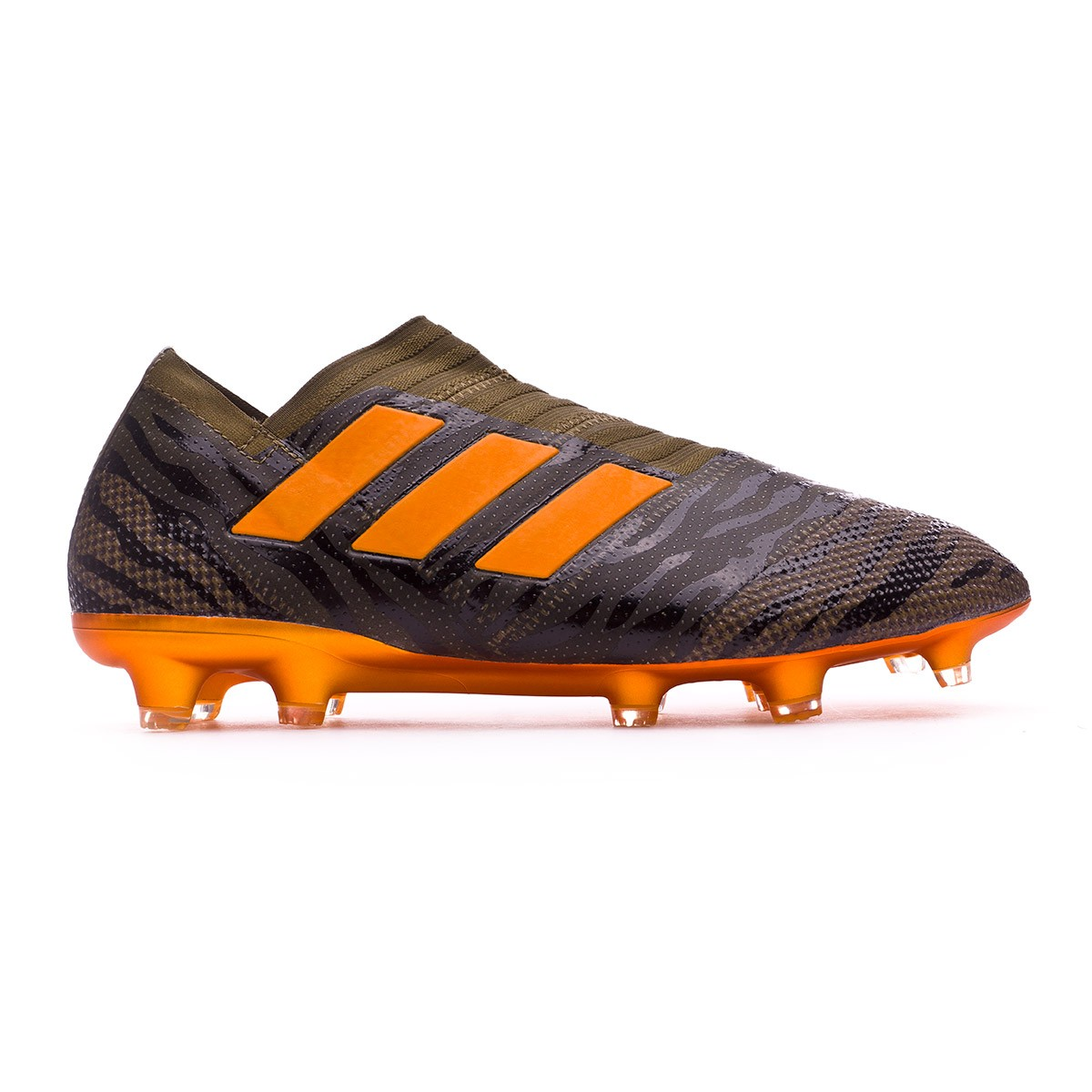 huge discount 76cc8 11578 Football Boots adidas Nemeziz 17+ 360 Agility FG Trace olive-Bright  orange-Core black - Tienda de fútbol Fútbol Emotion