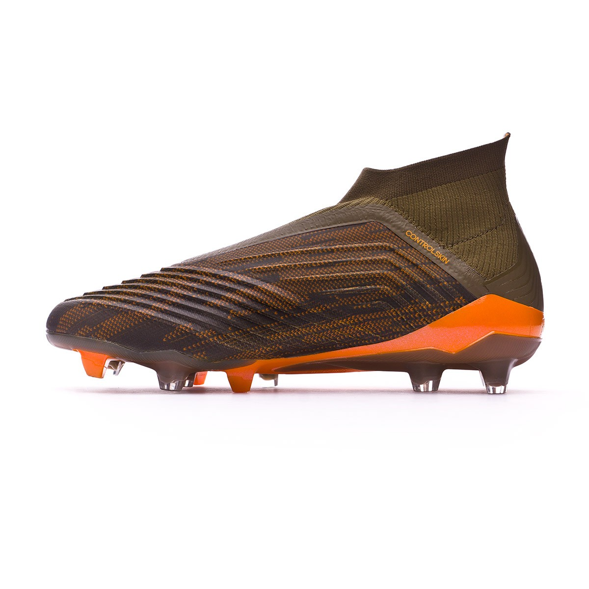 Boot adidas Predator 18+ FG Trace olive-Core black-Bright orange - Tienda  de fútbol Fútbol Emotion 97760baf2