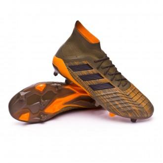 Chuteira  adidas Predator 18.1 FG Trace olive-Core black-Bright orange