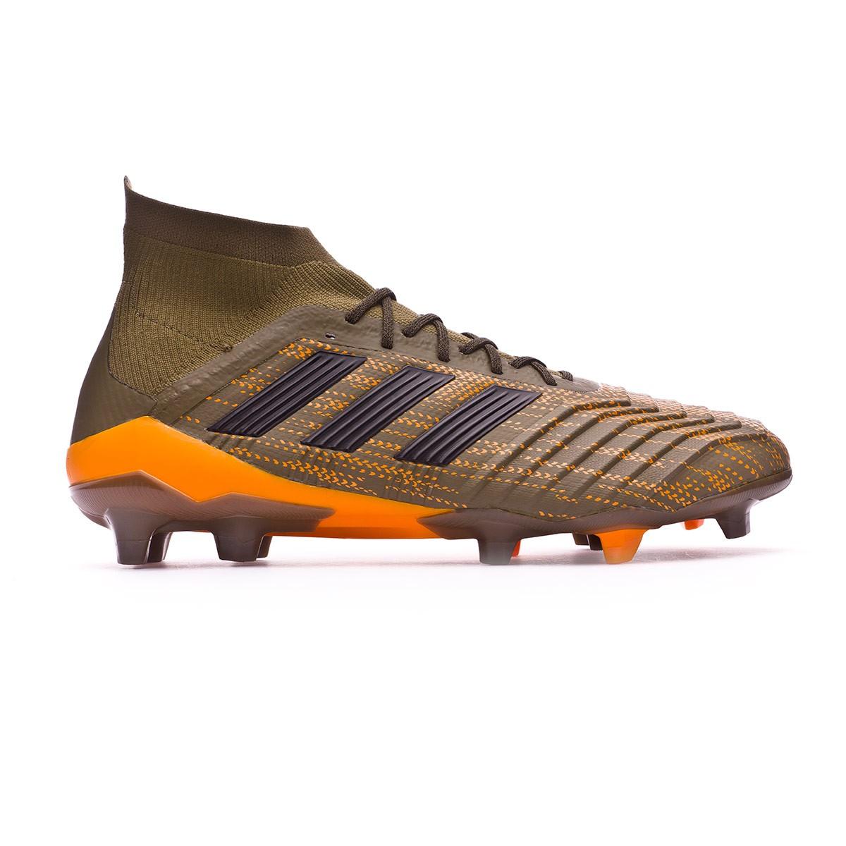newest 5f260 0da21 ... best boot adidas predator 18.1 fg trace olive core black bright orange  4d3a0 ace63