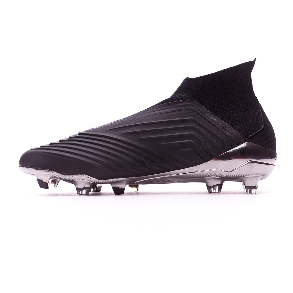 97a1379c9bfd Football Boots adidas Predator 18+ FG Core black-Real coral - Football  store Fútbol Emotion