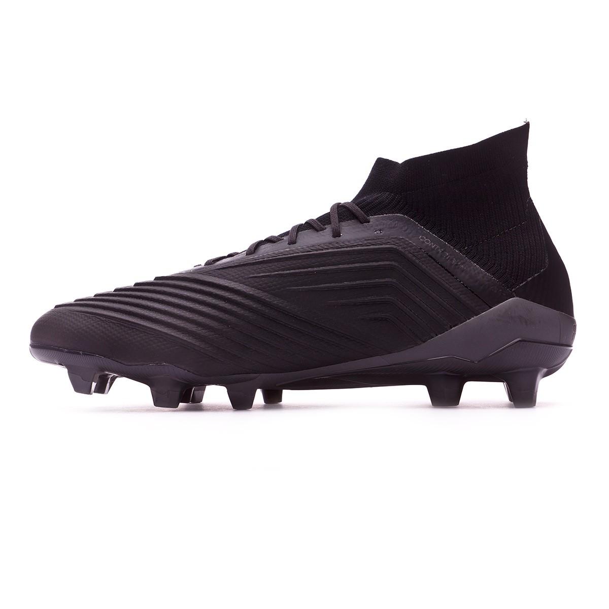 Adidas Predator 18,1 Fg Fotball Klamp - Kjerne Svart / Core Svart / Real Korall