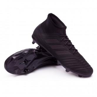 Chuteira  adidas Predator 18.2 FG Core black-Real coral