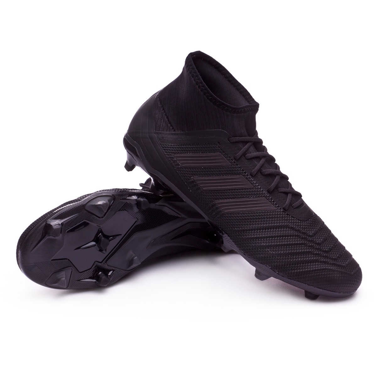 03c99ecc51f2ee Boot adidas Predator 18.2 FG Core black-Real coral - Football store ...