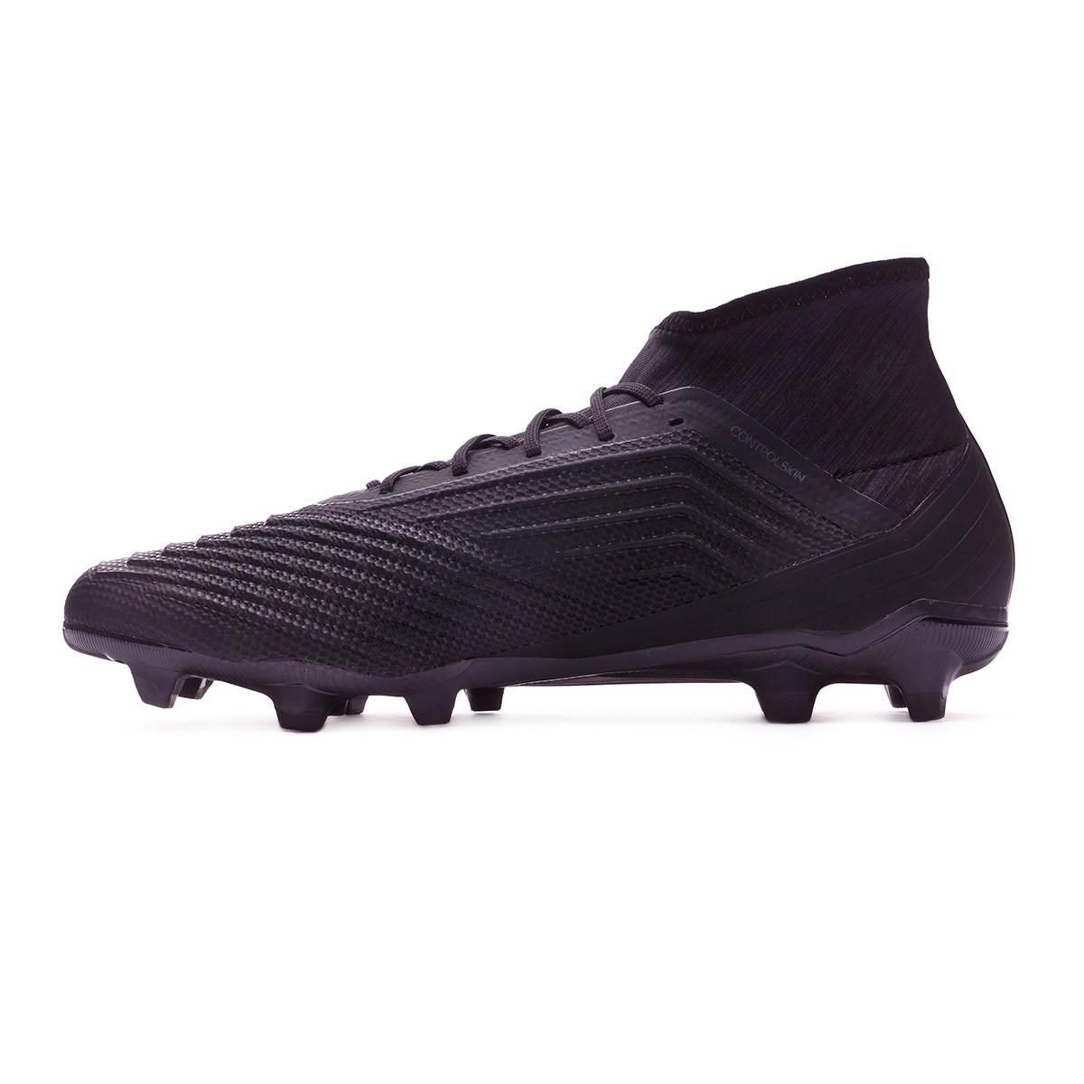 3d8a41a006 Chuteira adidas Predator 18.2 FG Core black-Real coral - Loja de futebol  Fútbol Emotion
