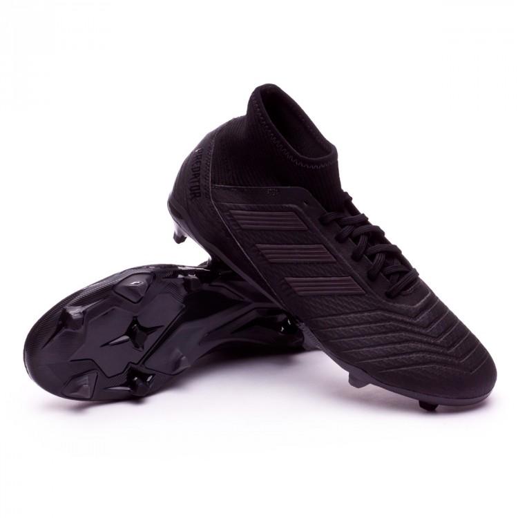fa2ec0ee23004 Bota de fútbol adidas Predator 18.3 FG Core black-Utility black ...