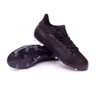 Bota  adidas X 17.2 FG Core black-Super cyan