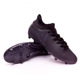 Bota  adidas X 17.3 FG Core black-Super cyan