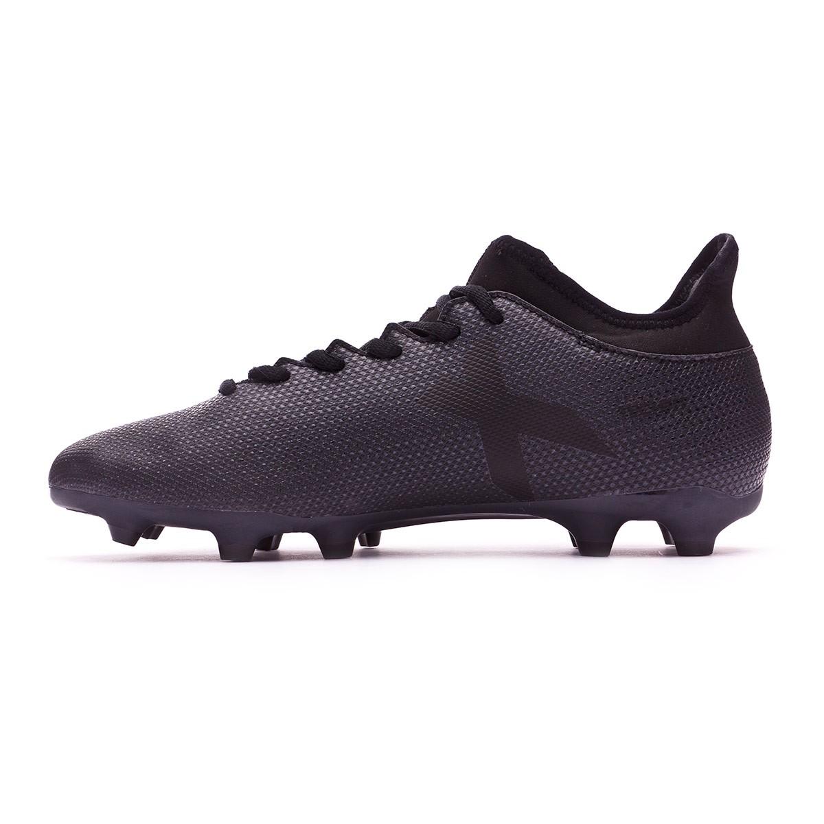 6993509f90 Chuteira adidas X 17.3 FG Core black-Super cyan - Loja de futebol Fútbol  Emotion
