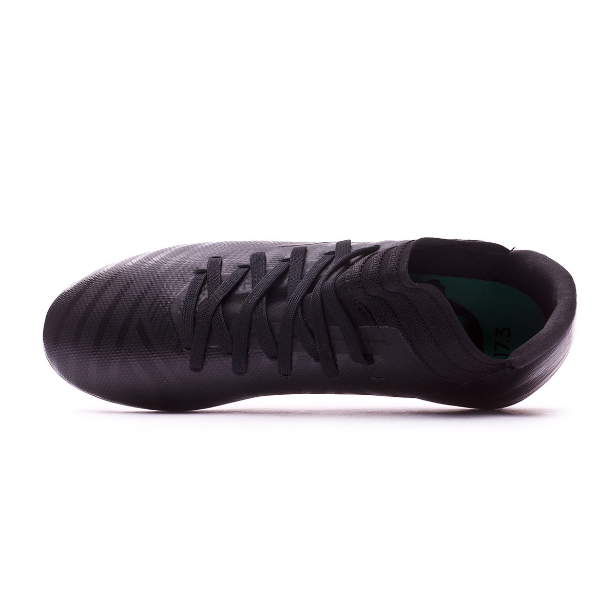 finest selection 355d1 25afa Boot adidas Kids Nemeziz 17.3 FG Core black-Hi-res green - Leaked soccer