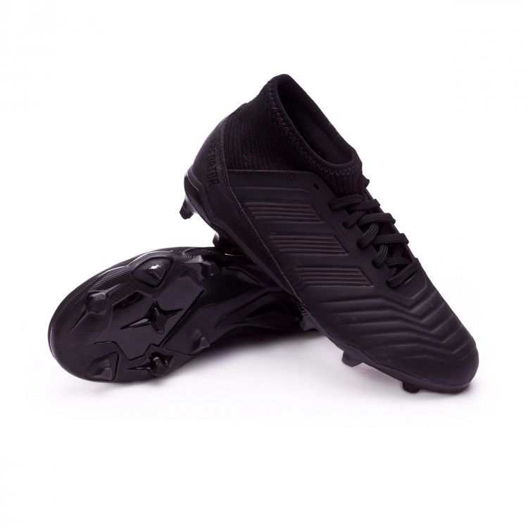 270e86015c25d Bota de fútbol adidas Predator 18.3 FG Niño Core black-Real coral ...