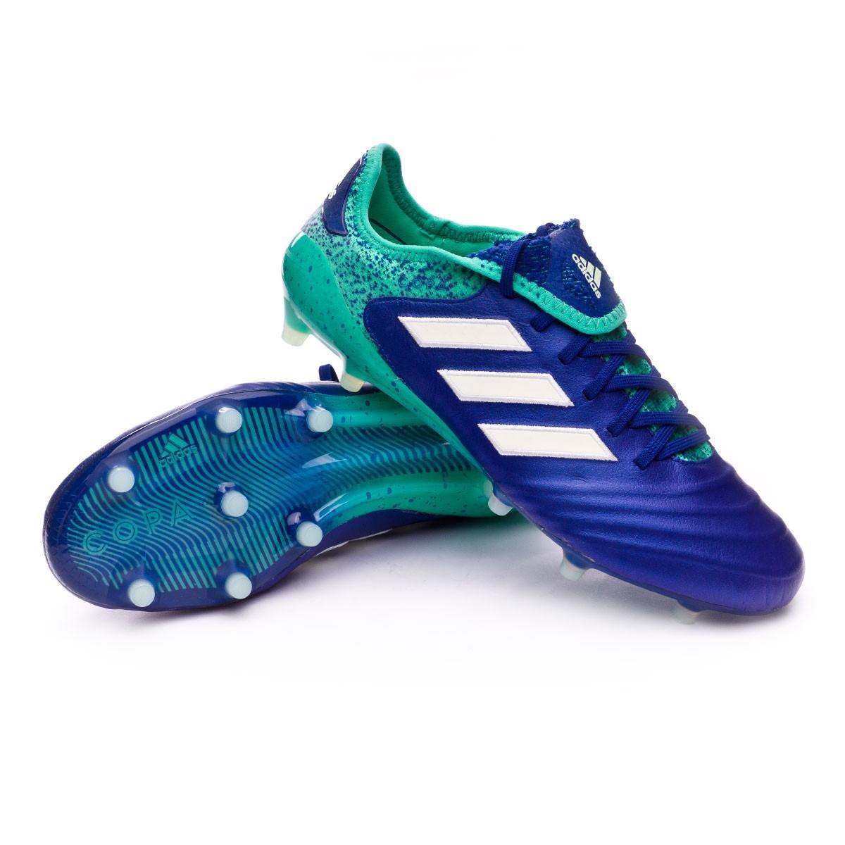 Scarpe adidas Copa 18.1 FG Unity ink Aero green Hi res green