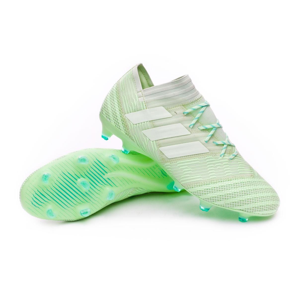 17de25fec Football Boots adidas Nemeziz 17.1 FG Aero green-Hi-res green ...