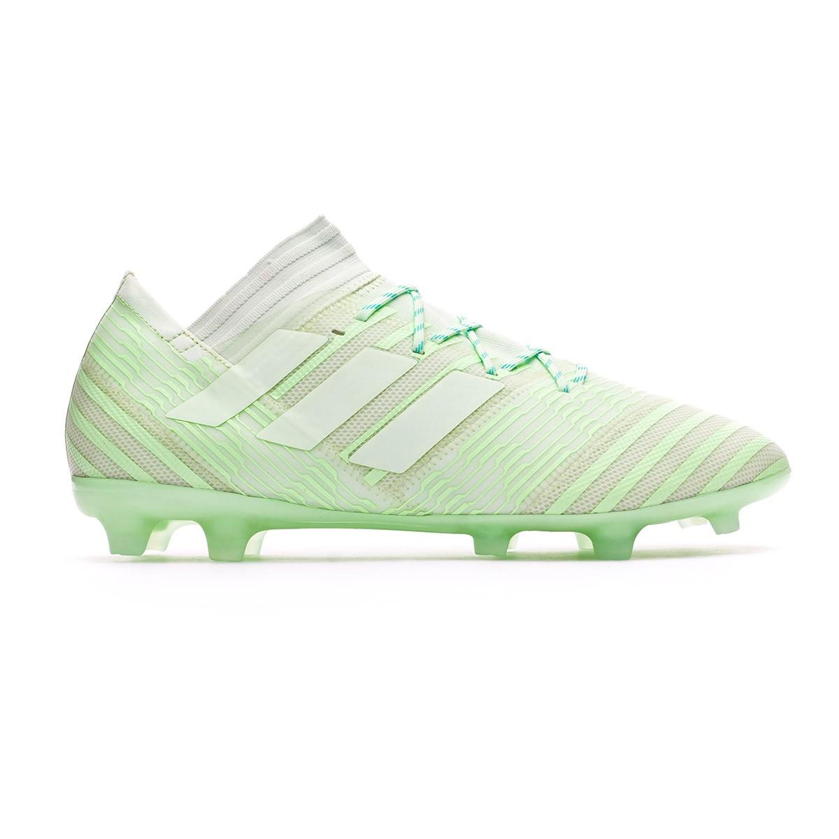 01e5cf4c1a Chuteira adidas Nemeziz 17.2 FG Aero green-Hi-res green - Loja de futebol  Fútbol Emotion
