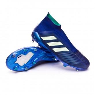 Chaussure de football  adidas Predator 18+ FG Unity ink-Aero green-Hi-res green