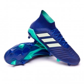 Chaussure de football  adidas Predator 18.1 FG Unity ink-Aero green-Hi-res green