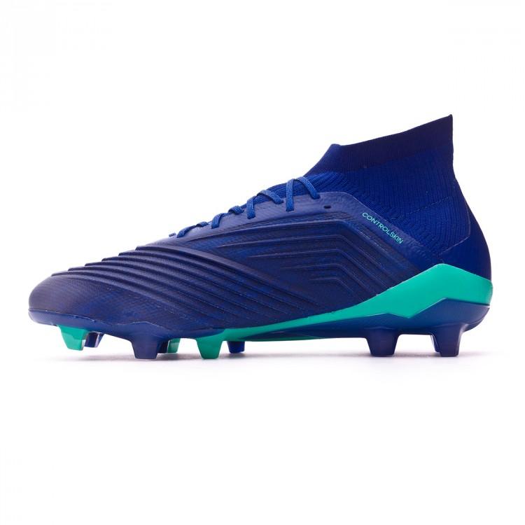 411628d8f Football Boots adidas Predator 18.1 FG Unity ink-Aero green-Hi-res ...
