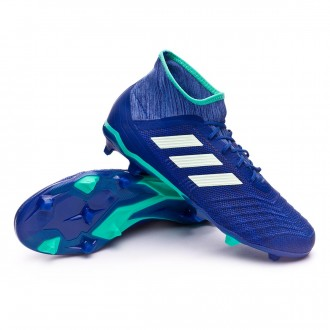 Chaussure de football  adidas Predator 18.2 FG Unity ink-Aero green-Hi-res green
