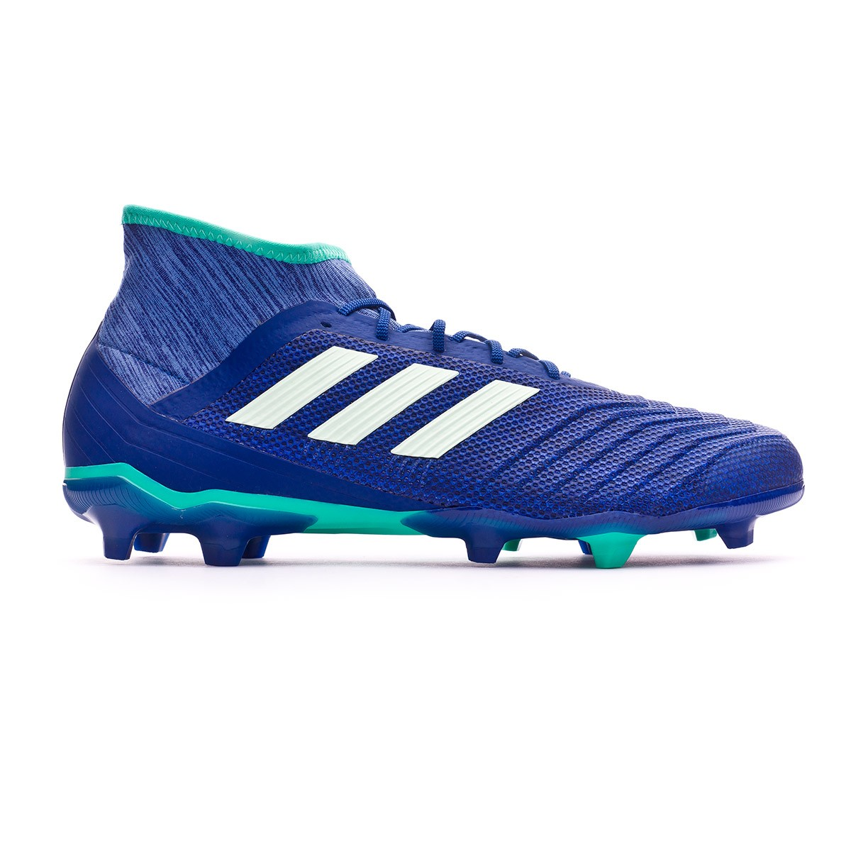 5ce6d186a9c9 Football Boots adidas Predator 18.2 FG Unity ink-Aero green-Hi-res green - Football  store Fútbol Emotion